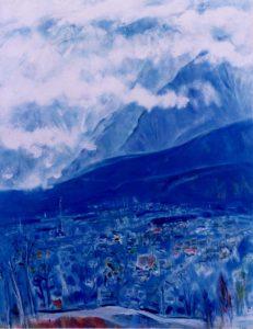 「信州・大町」 F120, 1998年