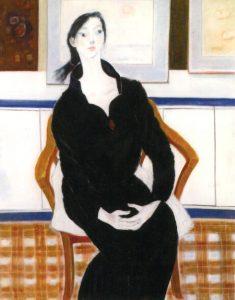「黒衣」 F50, 2007年