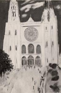 「シャルトル大聖堂」 F120, 1978年