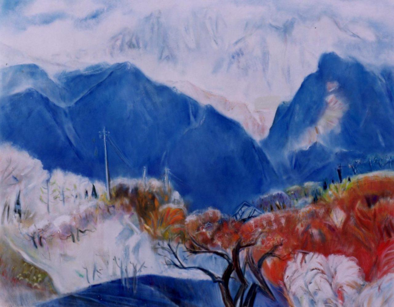 「甲斐・穴山」 F100, 2001年