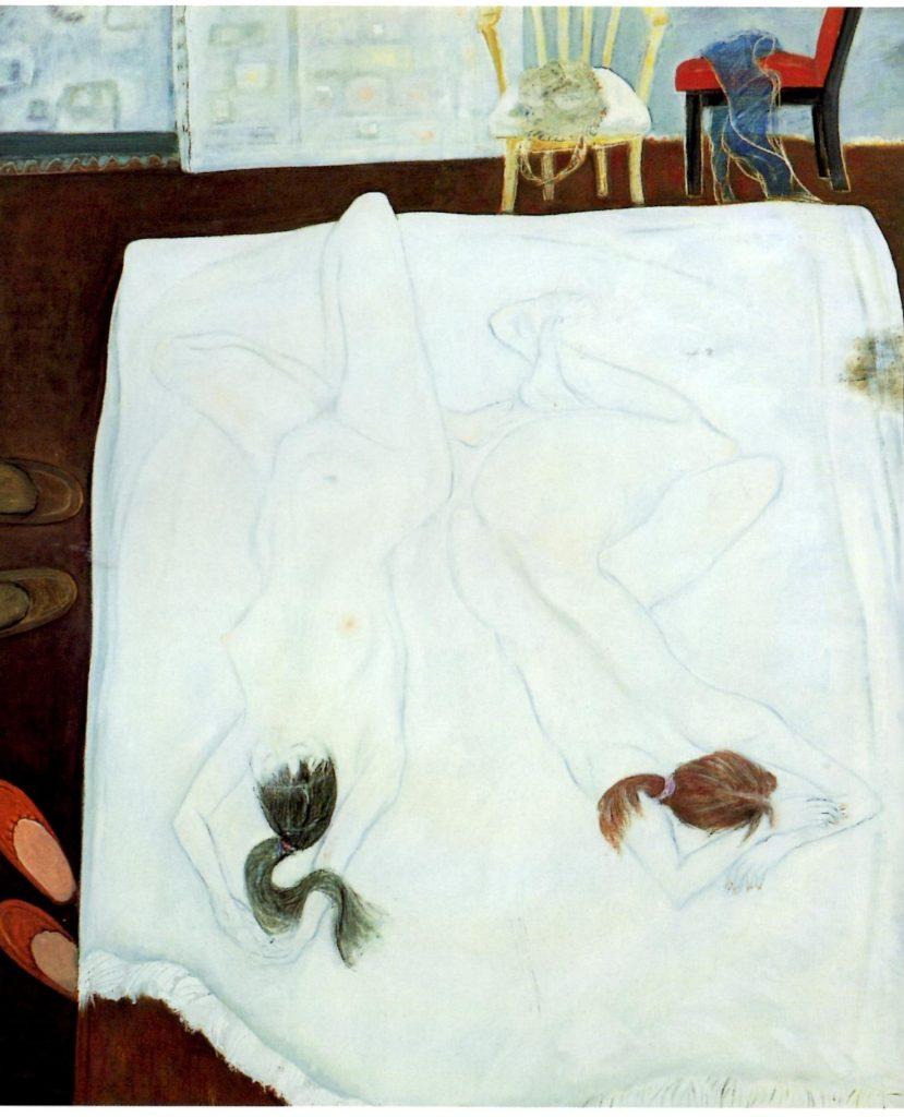 「裸婦」 F130, 2008年